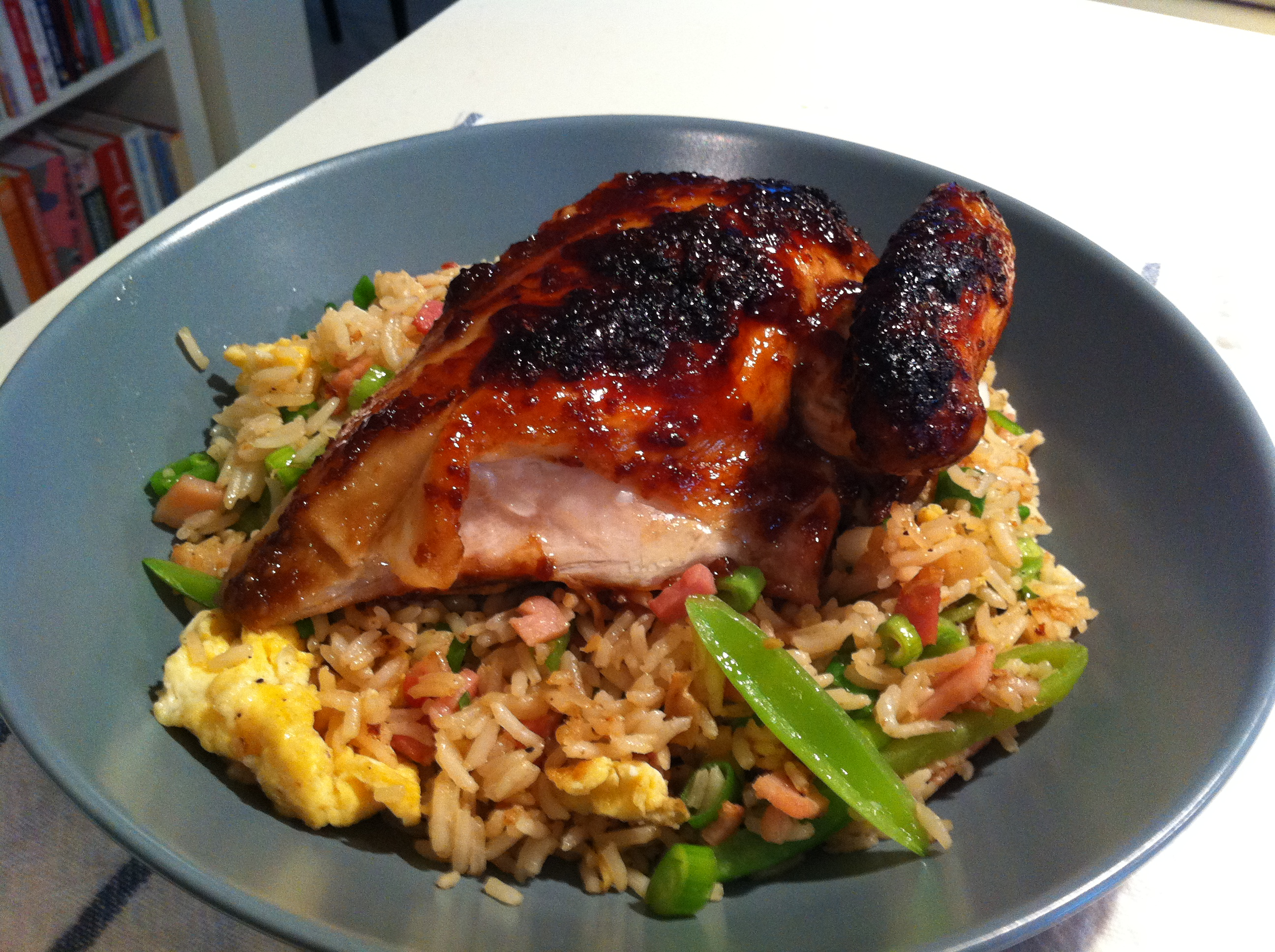 Soy chicken recipe oven